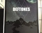The Deftones band poster print