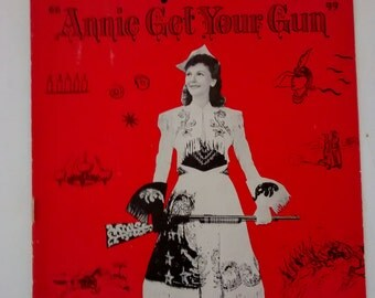 Annie Get Your Gun Playbill , Mary Martin , 1947 , Los Angeles Philharmonic