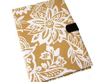 Ipad Pro iPad Case Air 2 3 4 5 Mini Hard Case iPad Cover, iPad Sleeve, i Pad stand up iPad mini hard case Yellow Flowers Camera Hole Leather