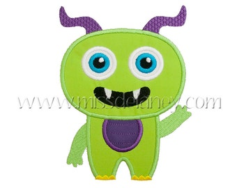 Monster 1 Applique Design