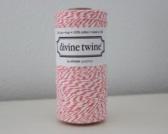 Baker's Twine - Divine Twine - 20 yards of Coral