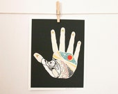 The Nothing Hand, art print