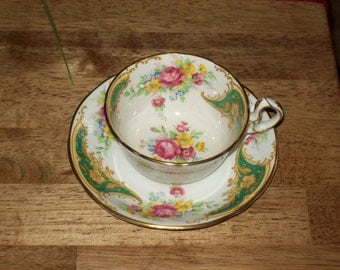 Teacup Set- Made in England  by Royal Strafford - Vintage