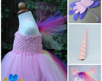 My little pony Cadence Costume - Princess Cadence 4 item outfit -  Cadence dress  Mi Amore Cadenza - Horn, Wings