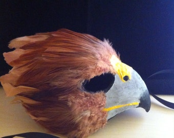 Golden Eagle  / Venetian Specialty Custom Animal Mask