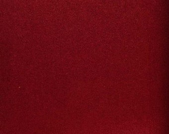 """Lipstick  Polyester micro faux suede upholstery fabric by the yard 60"""" Wide"""