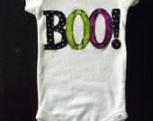 Halloween BOO Onesie/ Bodysuit for Babies, Halloween Outfit for Babies, Halloween Onesie/Bodysuit or T-Shirt for Boys or Girls