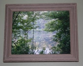 God's Picture Frame -Phinizy Swamp, Augusta, Georgia - 11x14 Print and Frame
