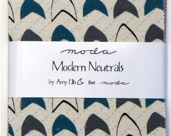 Modern Neutrals charm pack by Amy Ellis for Moda fabric