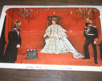 Movieland Wax Museum Vintage Post Card Booklet