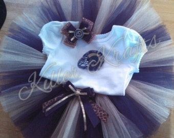 Los Angeles Rams inspired tutu outfit