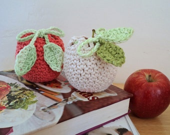 Apple Cozy Crochet Pattern, Digital Download