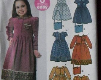 Simplicity Girls Dress Pattern 5483