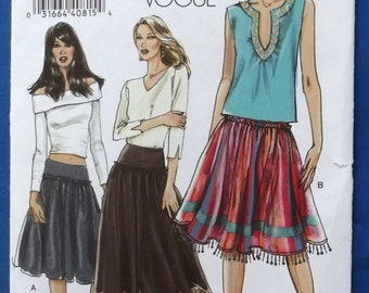 Three Very Easy Vogue Fashionable Women's Tops