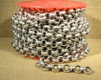 5 Feet 11mm Rolo Chain - CH115 - Antique Silver