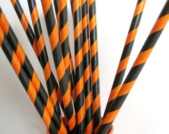 Halloween Paper Straws Mix Perfect for a Fun Halloween Party Halloween Favors Party Favors Halloween Decoration Halloween Drink Straws