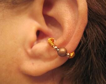 """No Piercing """"Twisted Tribe """" Ear Cuff Handmade 1 Cuff"""