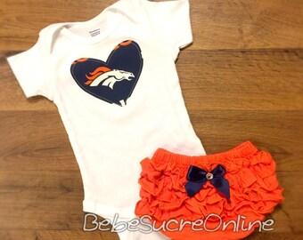 Denver Broncos Girls Outfit