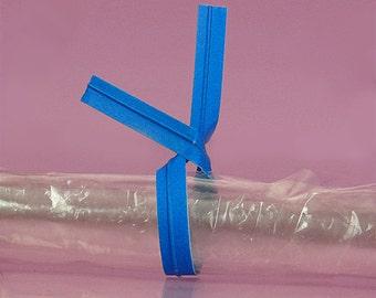 "Your Choice of Quantity 4"" Plain BLUE Paper TWIST TIES Bag Wire Metal Tie"