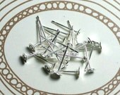 4mm Stainless Steel Studs - Silver
