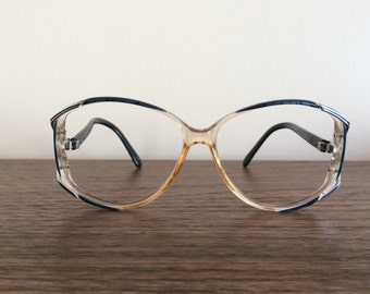 1980s Zyloware Oversized Women's Eyewear Eyeglass Frames Prescription Glasses