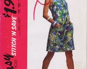 McCall's 5912 Misses' Jumpsuit Pattern, UNCUT, Size 6-8-10-12, Stitch 'N Save, Easy McCall's, Vintage, 1992
