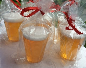 Six Pack of Beer Soap, honey ale soap, craft beer soap, wedding party gifts