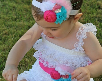 Cupcake Birthday Outfit - Cupcake Birthday Party - Cupcake Romper
