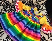 Perfect day rainbow dress