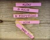 Baby Shower/Gift Clothespins