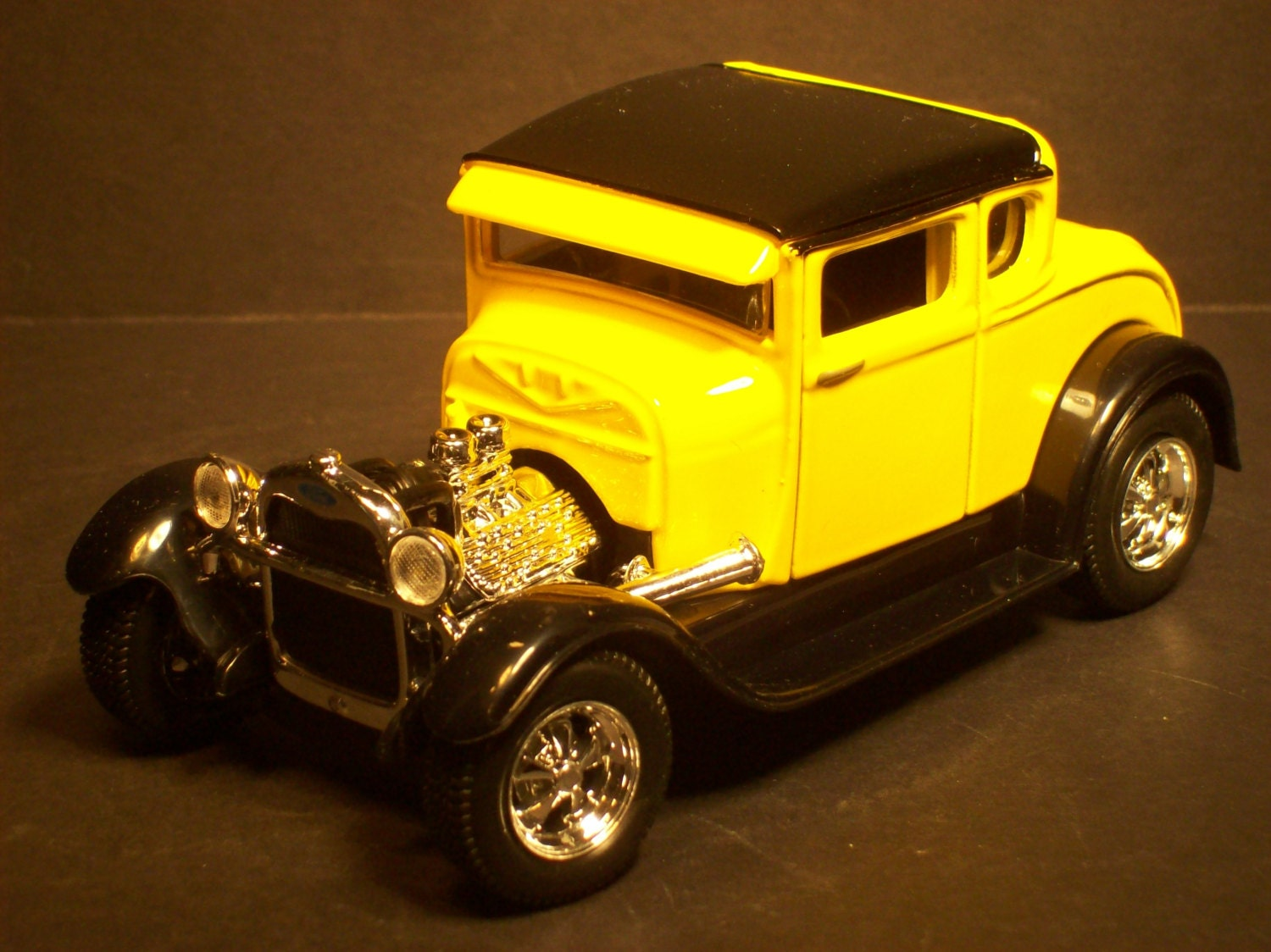 ford truck wedding cake topper auto mechanic ford model a rod yellow wedding cake topper 14404