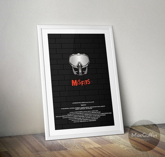 Misfits poster (Made to order)