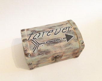 Tribal Forever Treasure Chest Box: use for cards, ring bearer, gifts, keepsakes and so much more