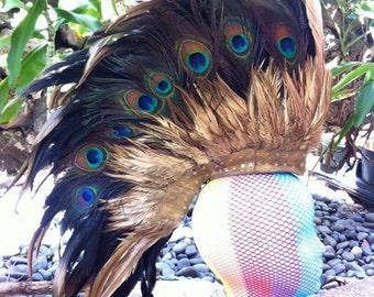 Feather Mohawk / Headdress - Mo'i Warrior (Warrior Queen)
