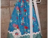 Girls Pillowcase Dress....Ariel Little Mermaid...sizes 0-3, 0-6, 6-12, 12-18, 18-24 months, 2T, 3T