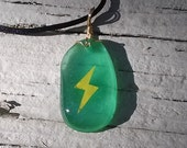 Glow in the Dark Thunderstone Necklace - Smooth Finish