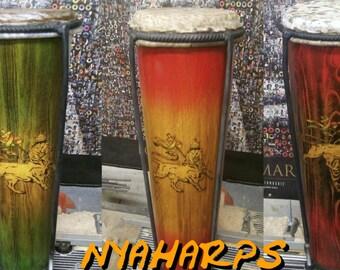 Nya Harps Professional Series Nyabinghi Drums
