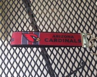 Arizona Cardinals Inspired Keychain Wristlet