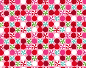 Peppermint Candy Dots from Michael Miller