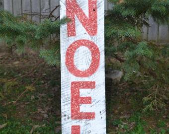 NOEL Barnwood Christmas sign