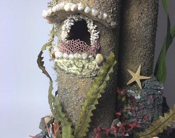 Mermaid Castle Lamp