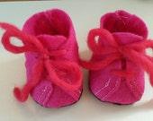 Doll shoe pattern