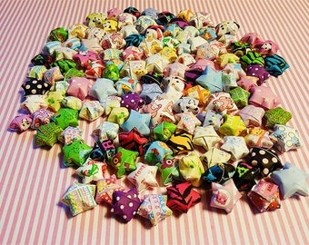 50 Lucky Origami Stars Cute Lot