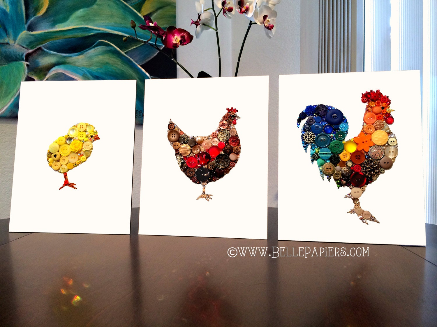 Rooster wall hanging kitchen decoration rooster wall art - Rooster wall decor kitchen ...