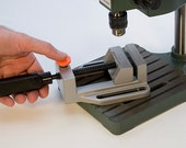 DRILL Press VISE  Hold Your Work Safely While Drilling -  Jewelry Tools for Metal Work