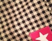 Comrade Cotton Womens Shorts Check 1/2 PRICE LAST PAIR