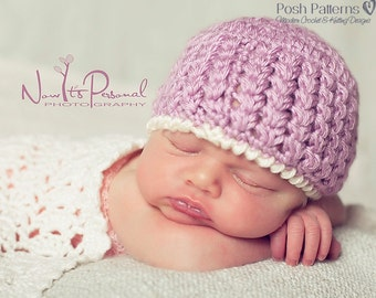 Crochet Pattern - Crochet Hat Pattern - Crochet Pattern Baby - Baby, Toddler, Kids, Adult Sizes - Photo Prop Pattern - PDF 304