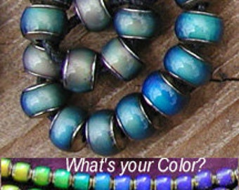 Strand 7 x 8mm Mood Beads - 20pc