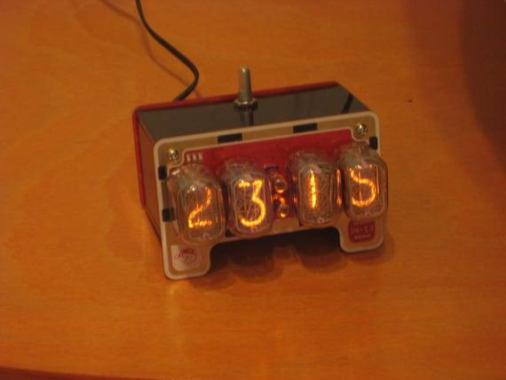 Arduino compatible nixie alarm clock