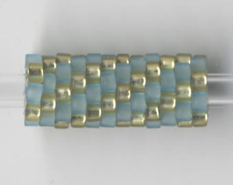 Woven Glass Bead Tube ... ... ... ... ... ... 6mm/o-2mm/i ... ... ... ... ... 12x08 * 560